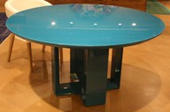 blue lacquer table